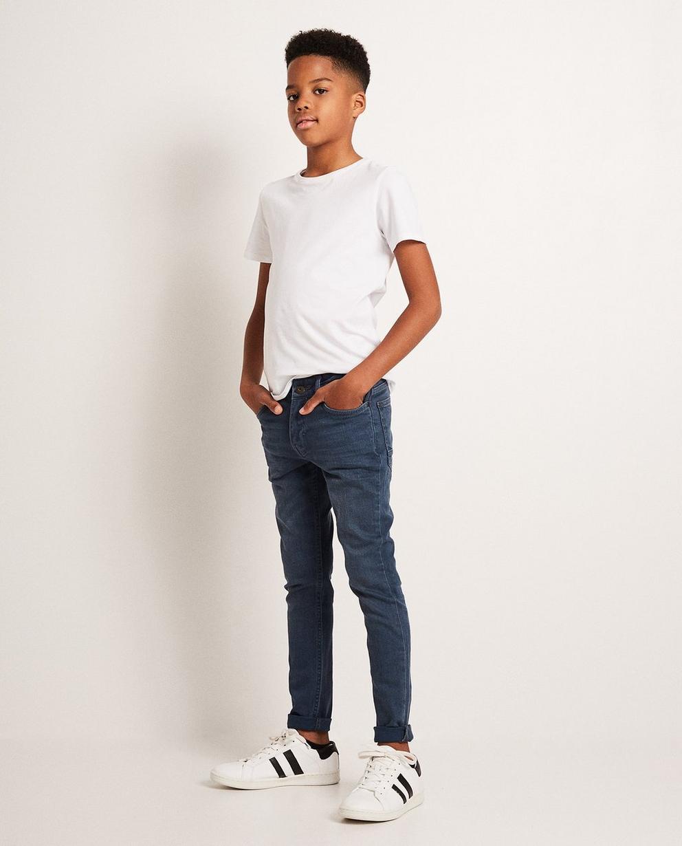 Skinny-Jeans mit Waschung - in Blau - JBC